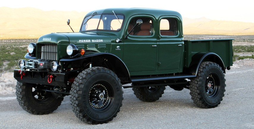 The History Of The Dodge Power Wagon Speed Carz