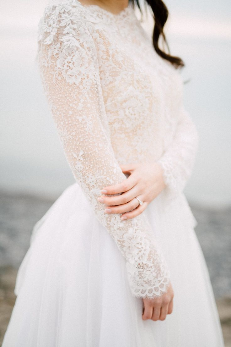 Wedding Dresses Gowns Long Sleeve Lace