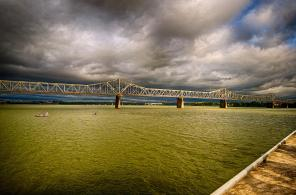 Stormy Morning On The Ohio River #3