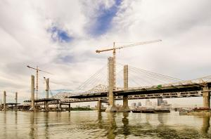The Downtown Span of the Ohio River Bridges Project. HDR Version