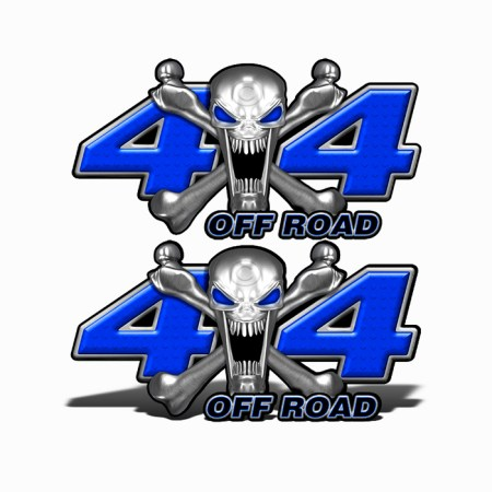 Mk405OR4-4x4-Off-Road-Stainless-Steal-skull-Head-Dark-Blue