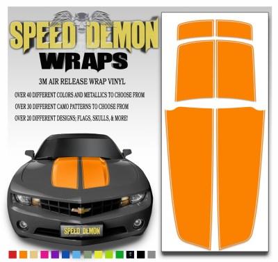 Camaro Stripes Orange 2010-2011-2012-2013-2014-2015