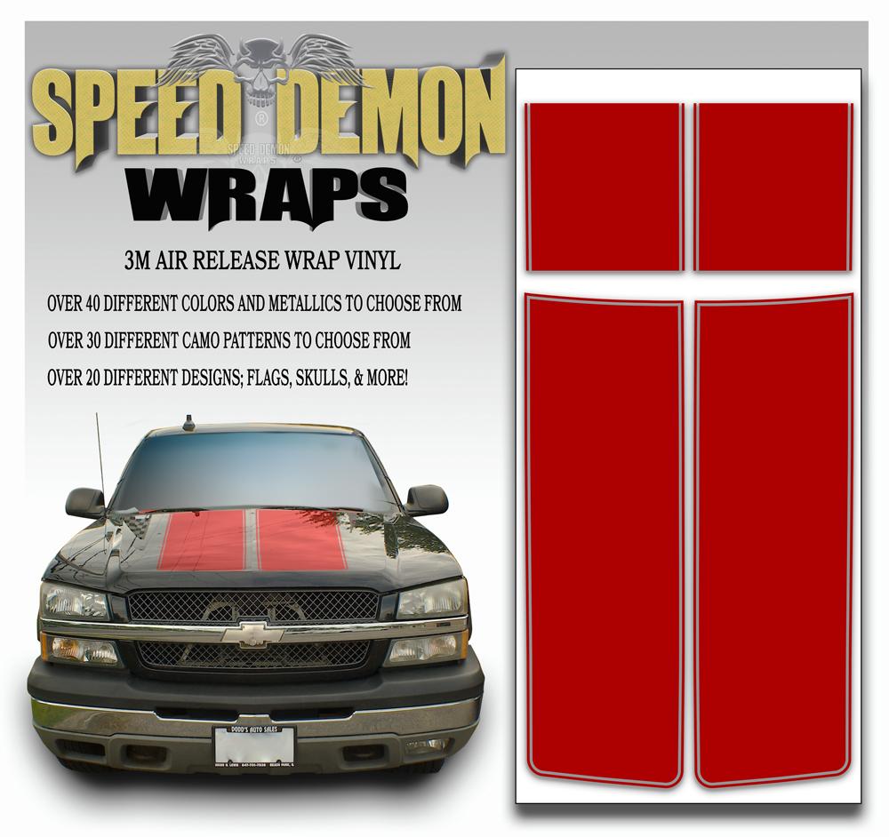 Chevrolet Truck Stripes 7
