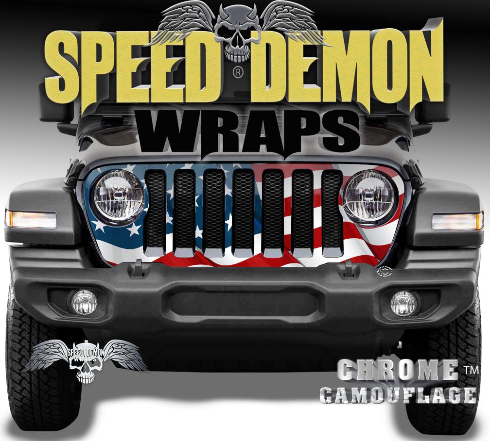 Jeep Grill Wraps 8