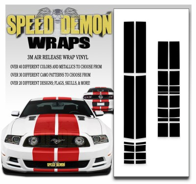 Mustang Racing Stripes 1