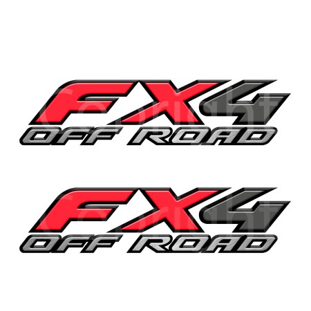 Fx4 Decal Red