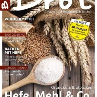 BROT-Magazin: Hefe, Mehl & Co.