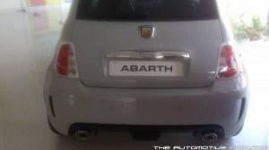 Abarth 500 Rear