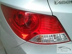 Hyundai verna CRDi 1.4 tail lamps