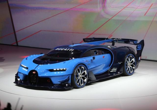 Bugatti concept 2015 Frankfurt Motor Show