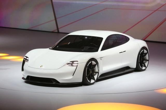 Porsche mission e concept 2015 Frankfurt Motor show