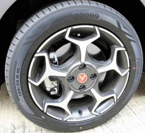 Abarth Punto scorpion wheels