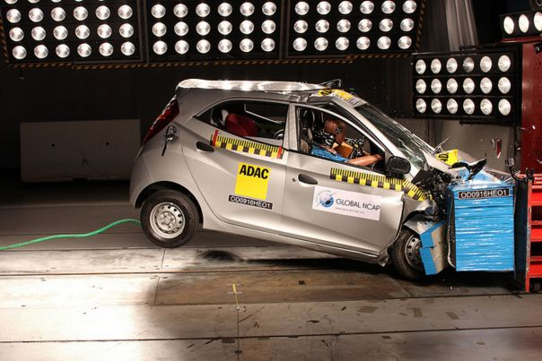 Hyundai Eon Global NCAP Crash Test