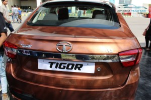 Tata Tigor Rear Boot Outside