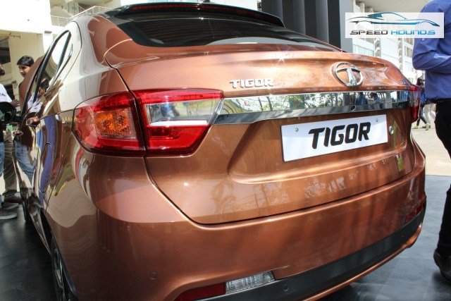 Tata Tigor Boot Chrome