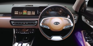 Kia SP Concept Interior
