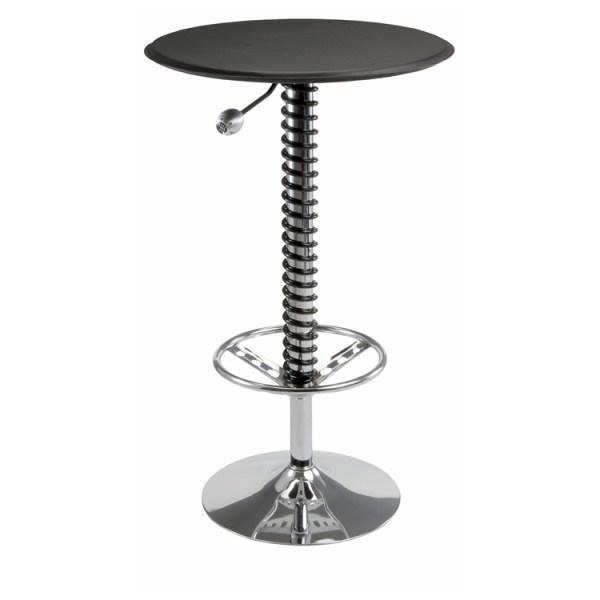 500|SPEEDLAB PitStop Furniture Pit Crew Bar Table Black HR1500B