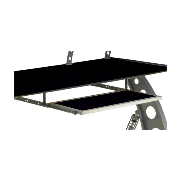 500|SPEEDLAB PitStop GT Spoiler Desk Keyboard Tray Black KPT300B
