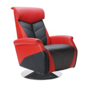 500|SPEEDLAB Pitstop Furniture RRC Racing Recliner Red RRC1000R