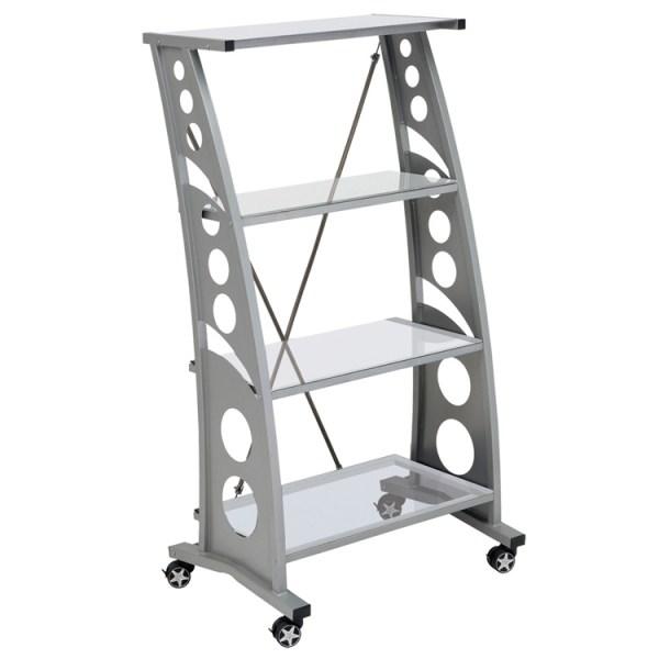 500|SPEEDLAB PitStop Chicane Bookshelf Clear WS5000C