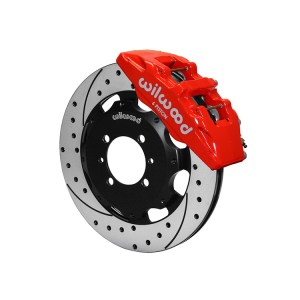 500|SPEEDLAB FIAT 500 Front Brake Kit-Wilwood Dynapro 6-Drilled and Slotted
