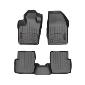 500|SPEEDLAB Weathertech Floorliners for FIAT 500X Full Set on White
