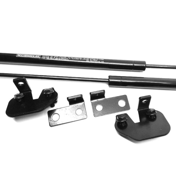 FIAT 500 Hood Lift Kit :: Prop Rod Retrofit :: 110900 :: Image 03 :: 500|SPEEDLAB