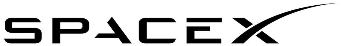 space x logo