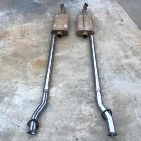 1962 Ford Unibody new exhaust, home built in the driveway