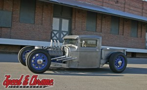 1934 Ford bare metal truck
