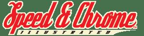 Speed and chrome logo