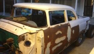 1956 Ford Customline Gasser Project