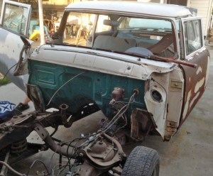 1956 Ford Customline Gasser Project
