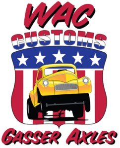 WAC Customs Gasser Axles