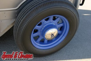Artillery Wheels on a '34 Ford Truck