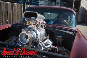 1955 Chevy Four Speed Gasser
