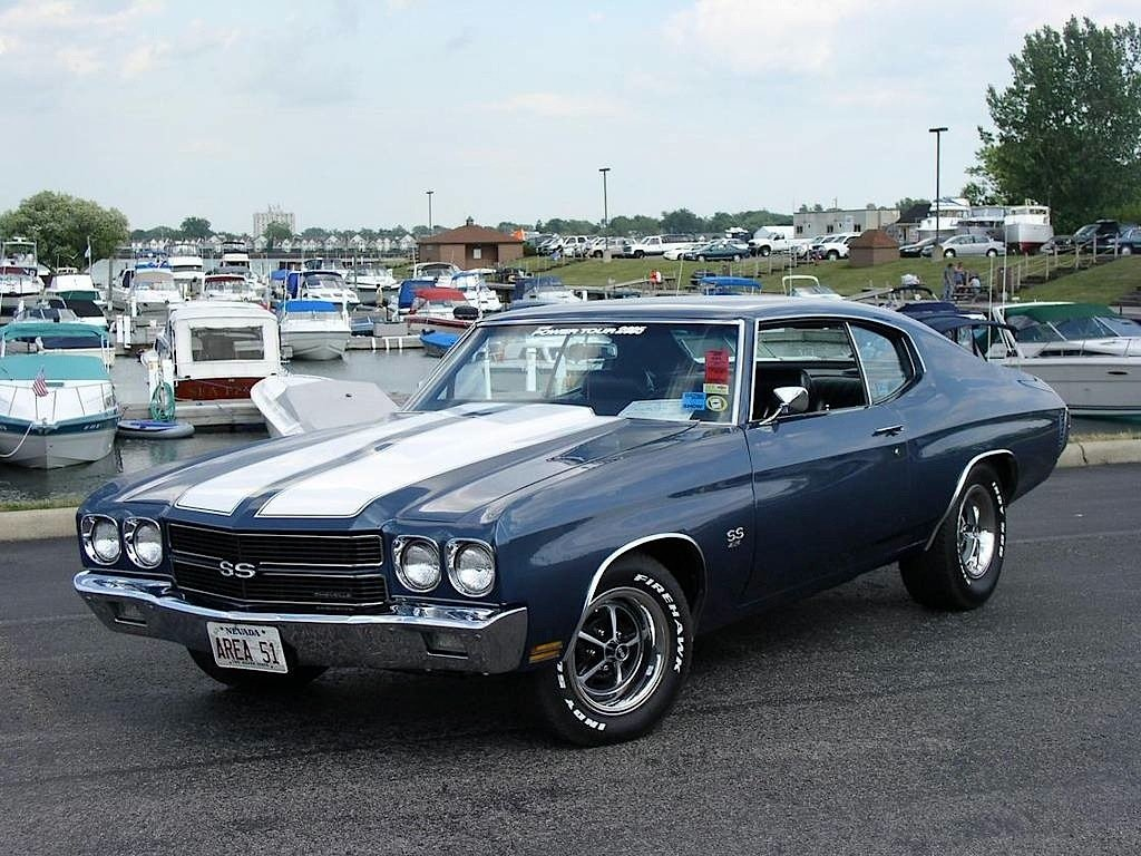 The Top 50 Fastest Muscle Cars Of All Time   Chevy Hardcore The 1970 Chevelle SS 454