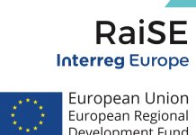 RaiSE Interreg Europe logo