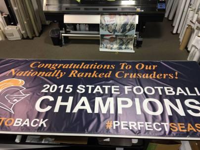 speedpro imaging south jersey midget football championship banner