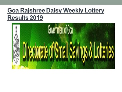 Top 12 Goa State Lottery Rajshree Result 11 55 Am - Gorgeous Tiny