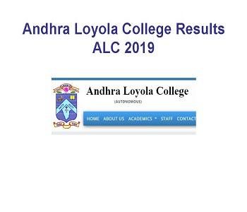 Andhra Loyola College Degree Results 2019 1st 3rd 5th