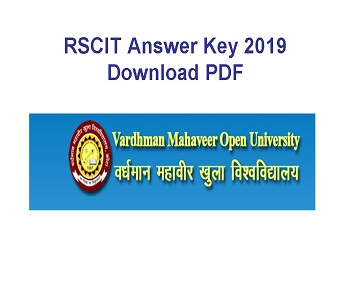 rscit answer key pdf download