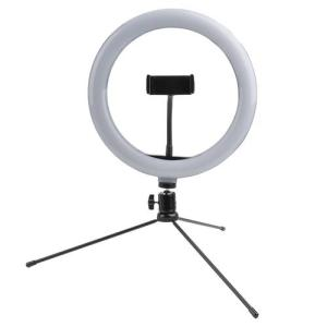 Stativ für Selfies mit LED Lampe für Smartphones