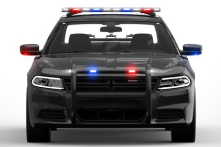 led police lights emergency warning