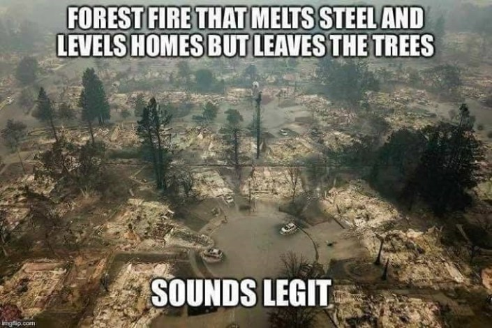 """Flashback: """"Directed Energy Weapons"""" Causing California Fires?"""