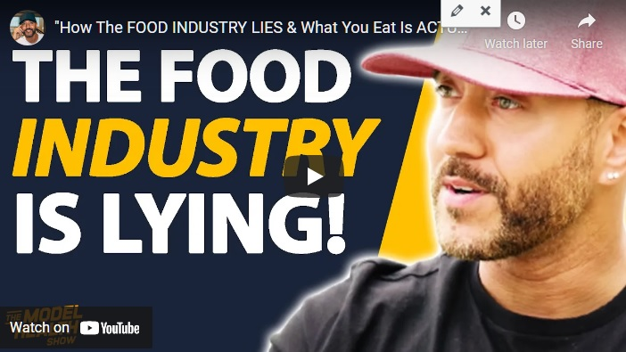 """How The FOOD INDUSTRY LIES & What You Eat Is ACTUALLY KILLING YOU!"" – Shawn Stevenson"