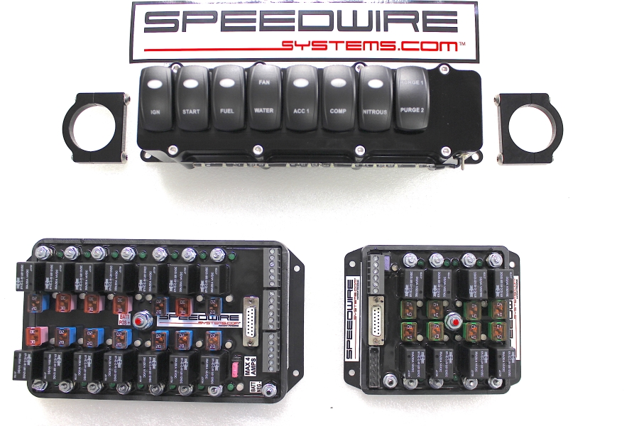 8 Switch Panel, 14 Relay Controller, 8 Stages EFI