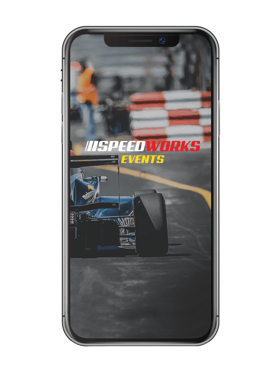 Speedworks events app