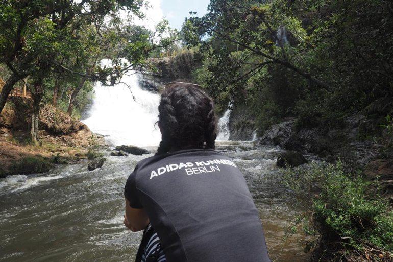 Tomando la mejor de las energías en mi país Colombia. Villa de Leyva
