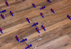 Tile leveling system during laying